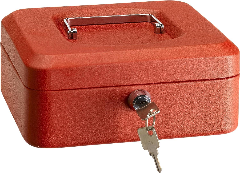 Arregui 1832D39 Caja de Caudales con Bandeja, Rojo, 152 x 80 x 118 ...