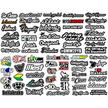 racing decal sticker 25 piece assortment pack by crash daddy automotive. Black Bedroom Furniture Sets. Home Design Ideas