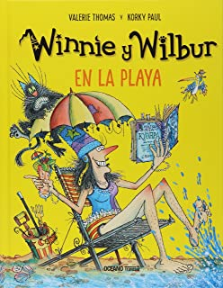 Winnie y Wilbur en la playa / Winnie at the Seaside (Spanish Edition)