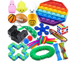 Fidget Packs,24 Pack Sensory Toys Set,ADHD Toys for Kids,Toys for Reducing The Stress and Anxiety of Children Adults,Gifts fo