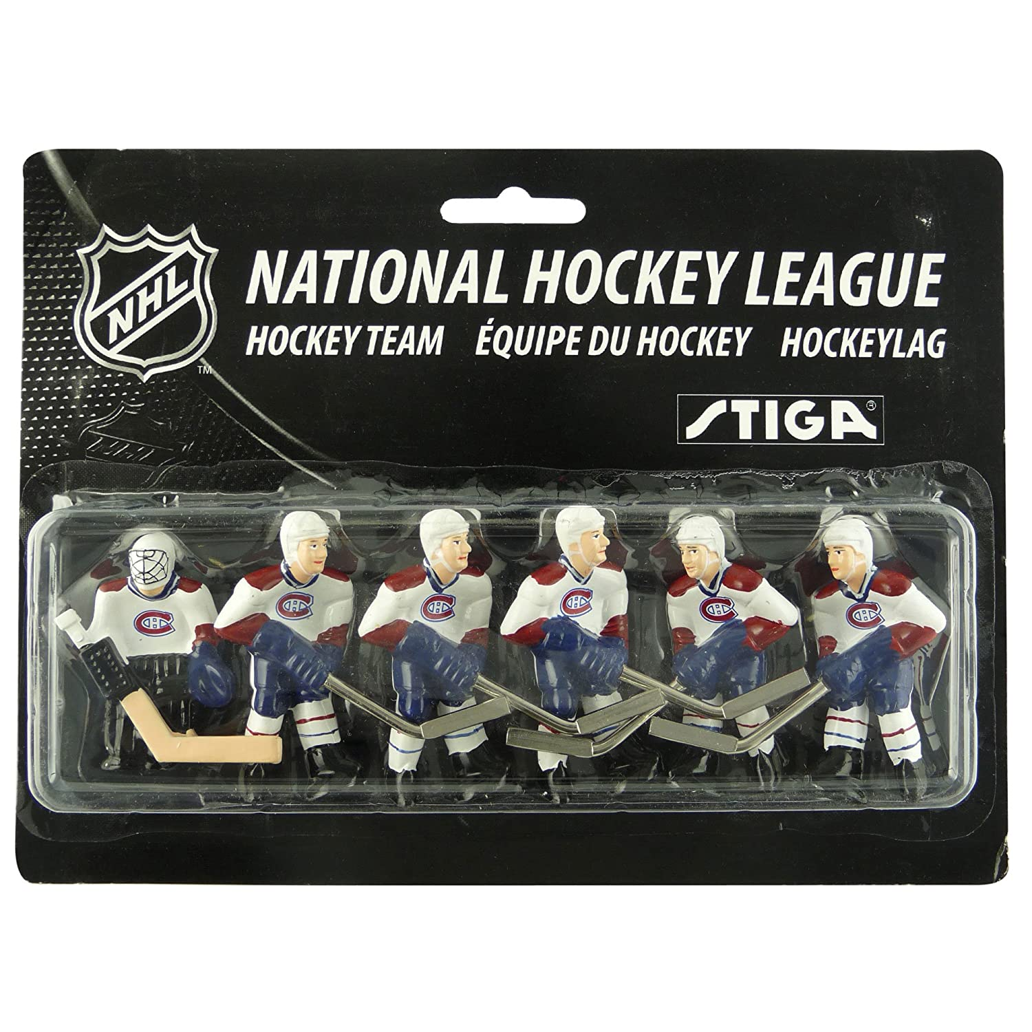 NHL Montreal Canadiens Table Top Hockey Game Players Team Pack Stiga 7111-9090-16