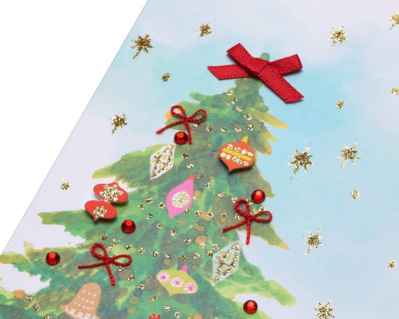 Papyrus Christmas Card Watercolor Christmas Tree