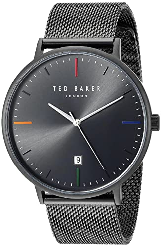cc08f1ce5b75 Ted Baker Men s Analog-Quartz Watch with Stainless-Steel Strap TE50311002   Amazon.co.uk  Watches