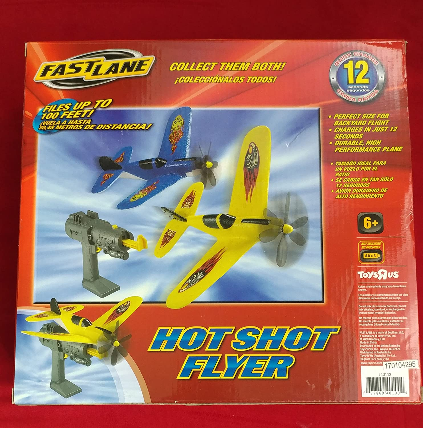 amazon com fast lane shot flyer toys u0026 games