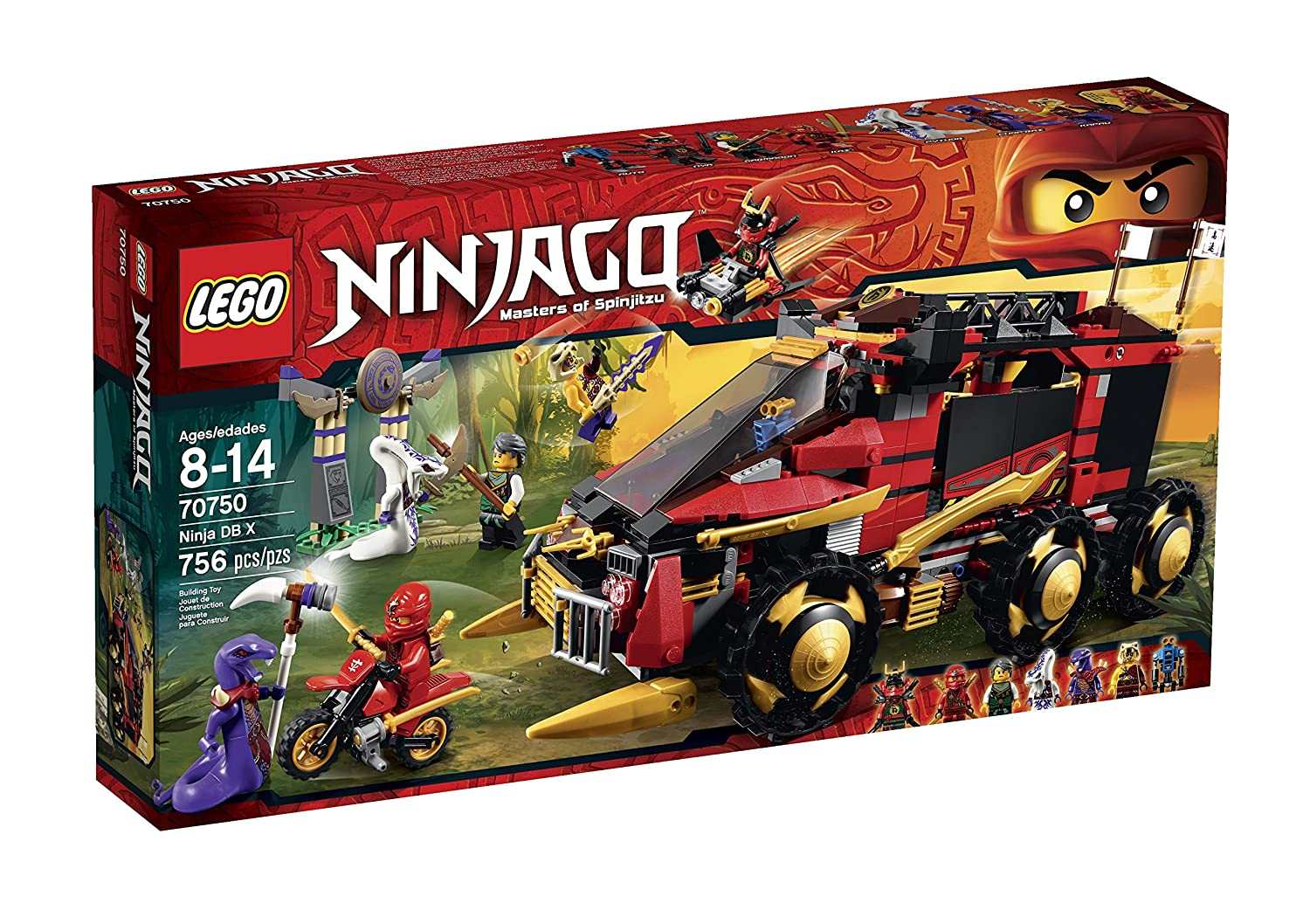 LEGO Ninjago Ninja DB X Toy by LEGO: Amazon.es: Juguetes y ...