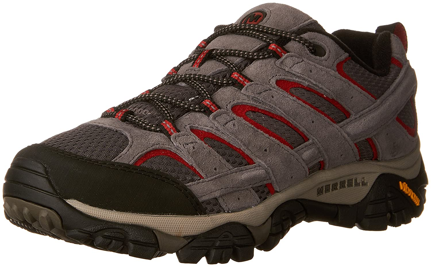 Merrell Men's Moab 2 Vent Hiking Shoe 8.5 2E US|Charcoal Grey