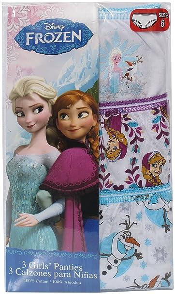 Disney Frozen Girls Briefs 3 Pack