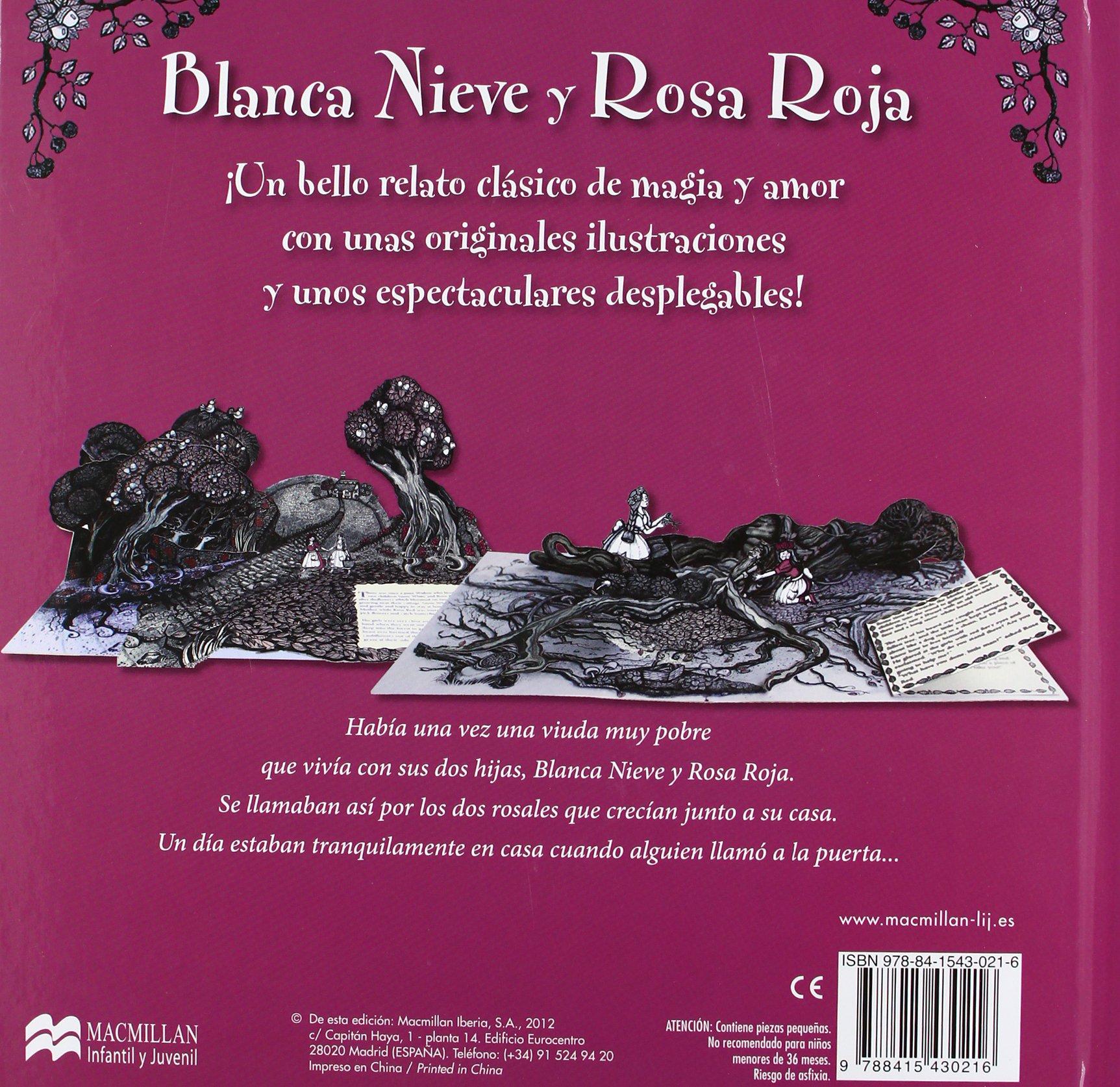 Blanca nieve y Rosa roja: Hermanos Grimm: 9788415430216: Amazon.com: Books