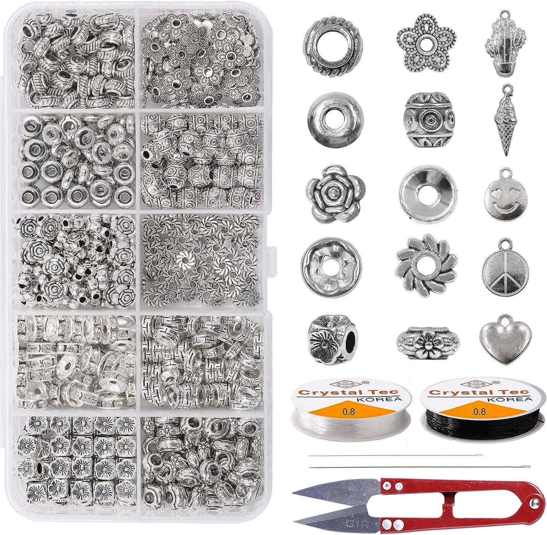 Bracelet Spacer Beads Licorice Sliders Silver Licorice Beads Silver Jewelry Licorice Spacers Tube Beads Silver Spacer Beads 4 Pc