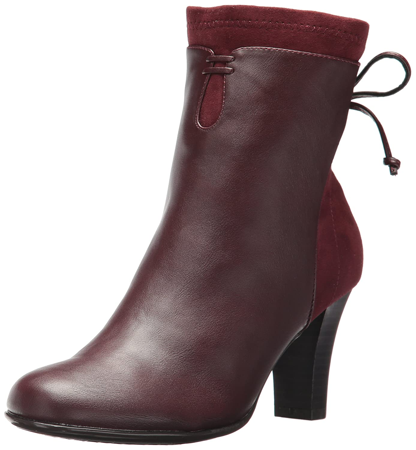 Aerosoles Women's Leading Role Ankle Boot B0722Y1L37 7.5 M US|Wine Combo