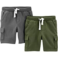 Simple Joys by Carter's Multi-Pack Knit Shorts - Infant-and-Toddler-Shorts Unisex bebé