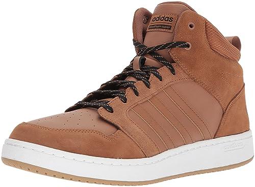 c10f4600d7cf7 Adidas Men's Cloudfoam Super Hoops MID Basketball Shoe, Timber/White ...