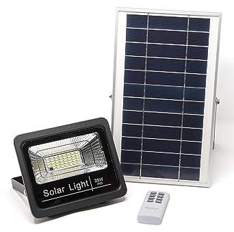 Luz Solar Solar a 15 LED Distancia Cálida 25WFoco LuzIluminación 1000 Mando Solar Hasta Solar 2700KLámpara HORAS Luz LMAplique Exterior de TK1lFJ3c