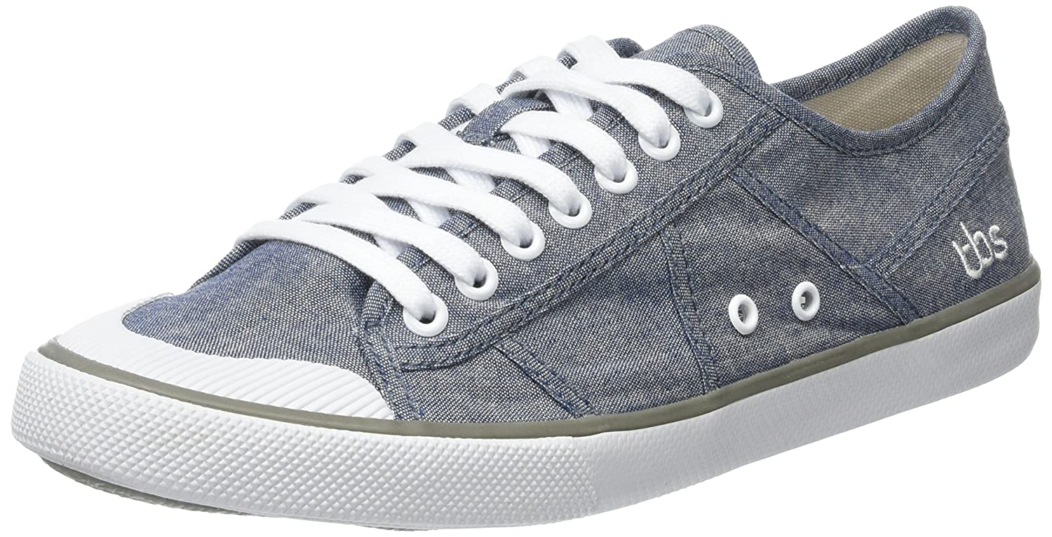 TBS Violay V7 - Zapatos Derby Mujer 37 EU|Gris (Chambray)