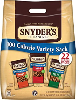 22-Count Snyder's of Hanover Pretzels 100 Calorie Variety Pack