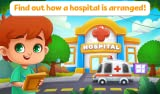 Doctor Foot - educational and entertaining game for kids of kindergarten age in which preschoolers become surgeons and learn to provide first aid and cure people's feet from various wounds. The game trains fine motor skills, develops empathy