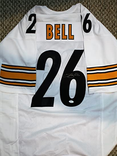 a1c8735fe Image Unavailable. Image not available for. Color: Autographed Le'Veon Bell  Pittsburgh Steelers Custom Jersey with JSA COA