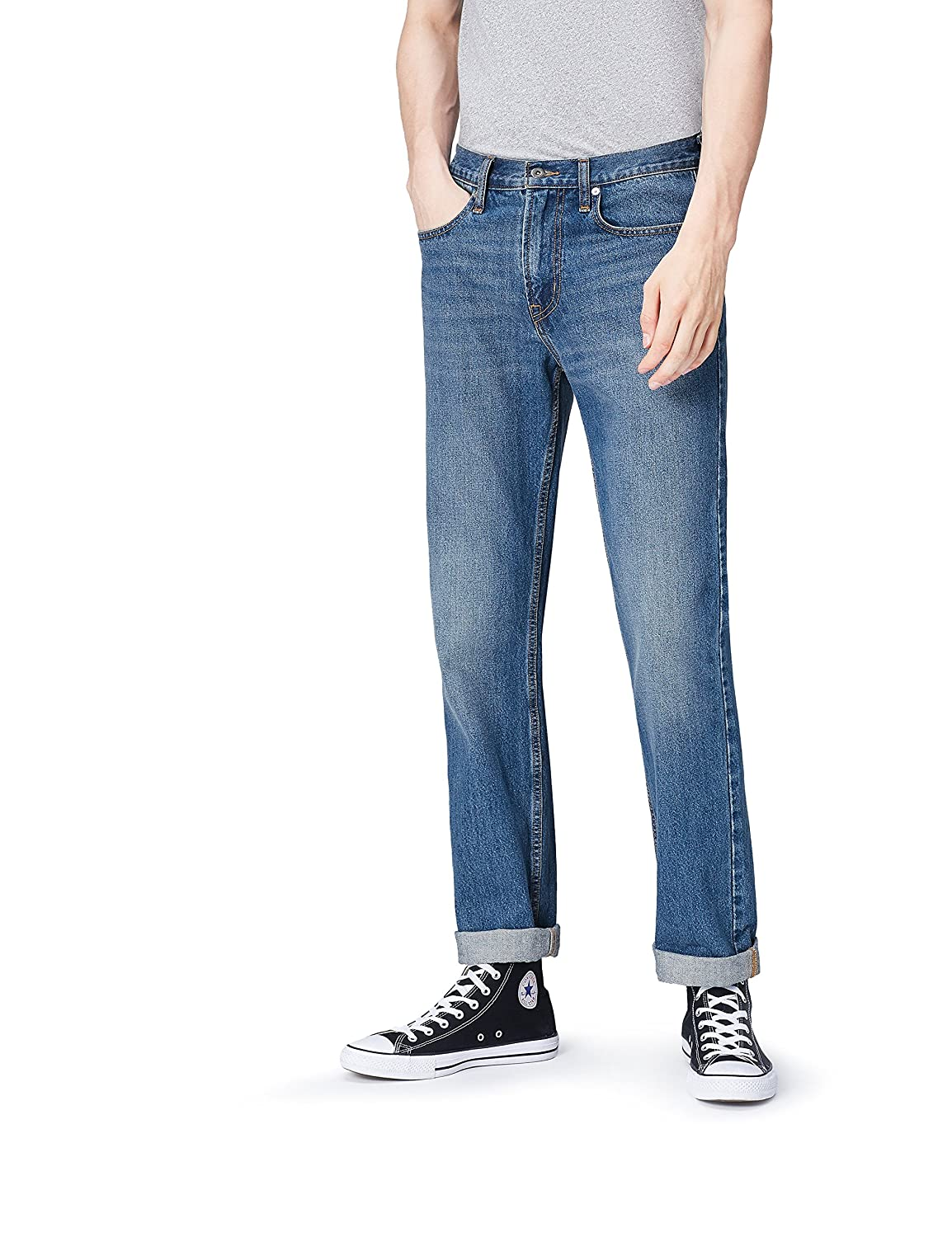 FIND Jeans a Gamba Dritta Uomo CRY0021020170213