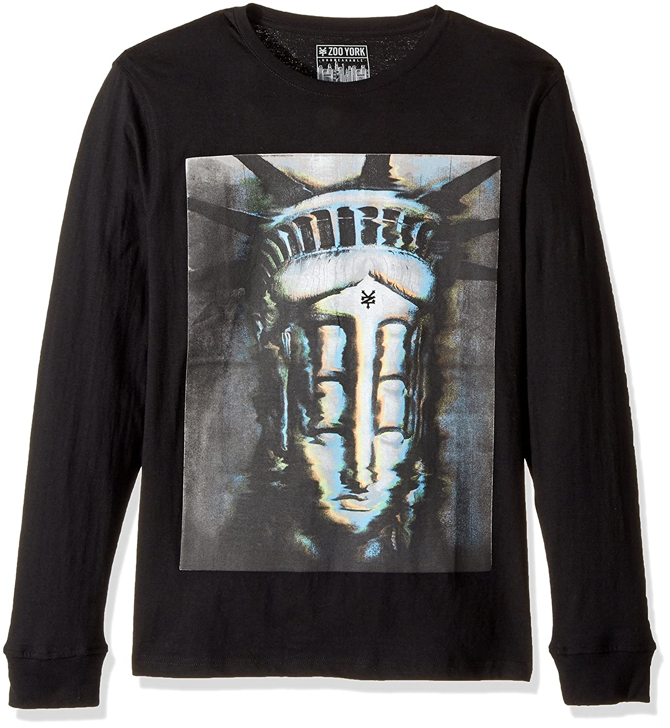Zoo Sleeve York Herren Poltergeist Long Sleeve Zoo Tee Skate-T-Shirt fd4123