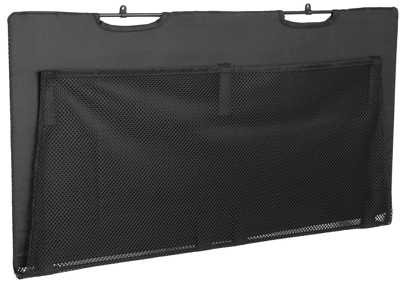 "VIVO Black Under Desk Privacy & Cable Management Organizer Sleeve Wire Hider Kit Panel System - 30"" Length (DESK-SKIRT-30)"