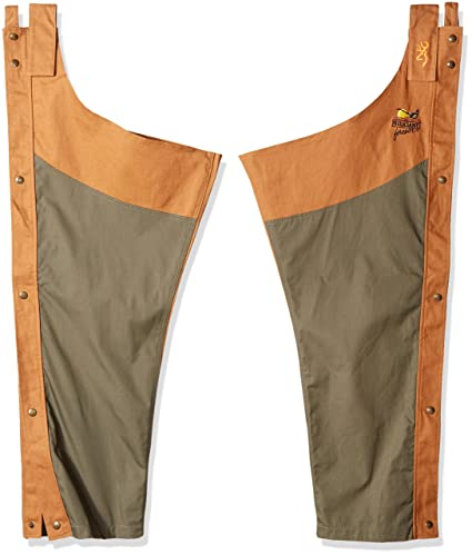 e992cfdfcb203 Amazon.com : Browning Pheasants Forever Chaps, Upland Field Tan ...