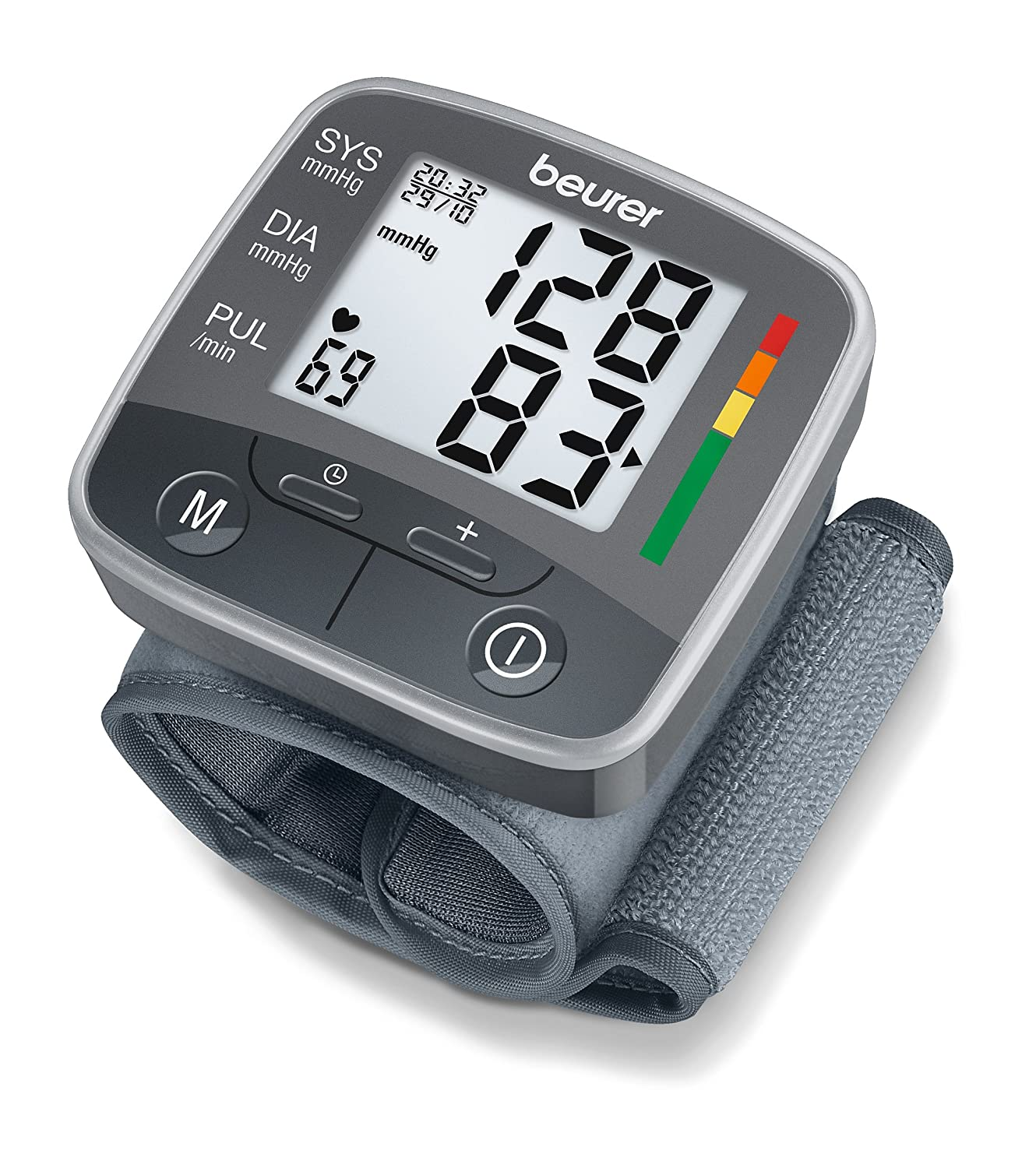 Amazon.com: BC32 Wrist Blood Pressure Monitor: Health ...