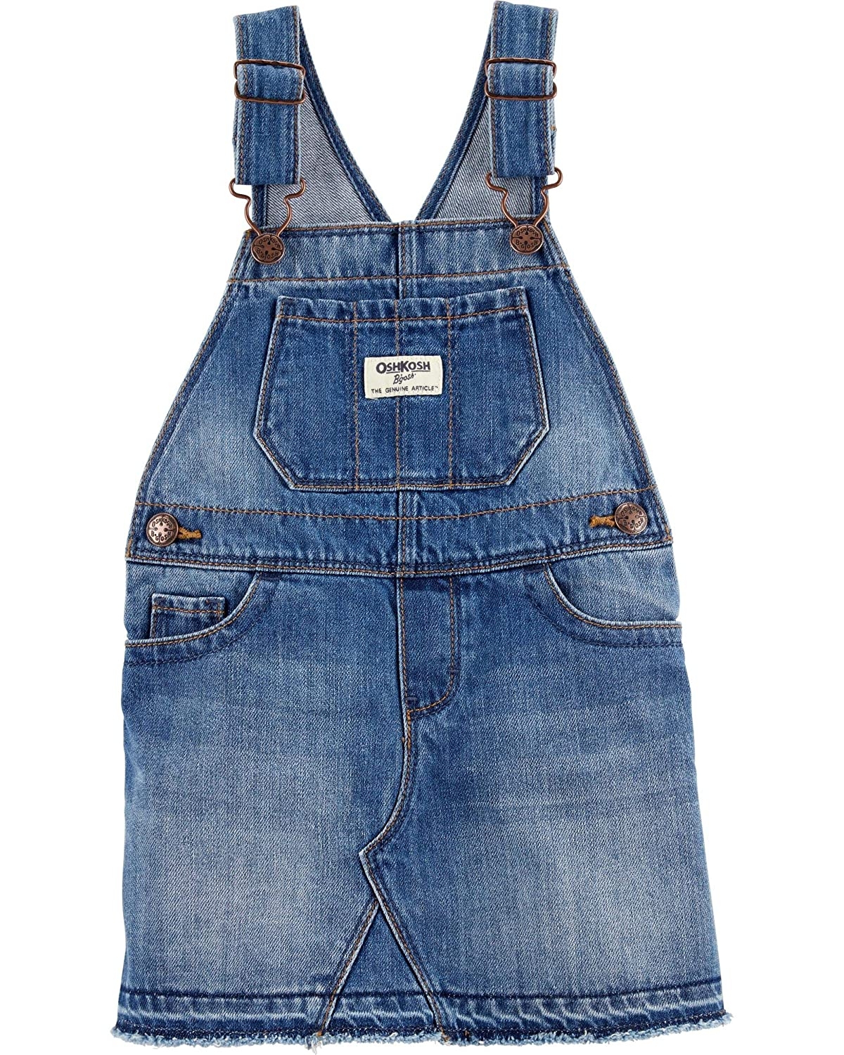 大人気定番商品 OshKosh B'Gosh PANTS ガールズ B07KRYQ5L1 Denim Jumper|2T Jumper 幼児 PANTS 幼児|Denim 幼児|Denim Jumper|2T, 美野里町:dad26f29 --- vanhavertotgracht.nl