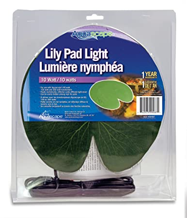amazon com aquascape lily pad light for pond and water feature