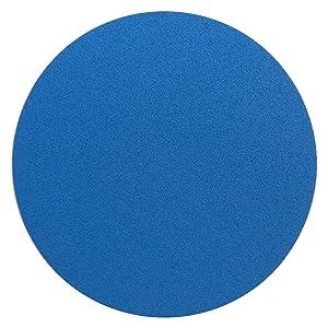 50 x KLINGSPOR lija ps21fk | 125 mm | sin perforar | Base adherente | (corindón de circonio