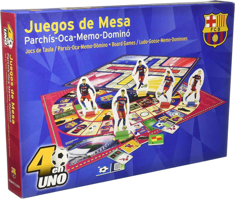 NANOSTAD - FC Barcelona, parchís y oca Deluxe (Giochi Preziosi 34127): Amazon.es: Juguetes y juegos