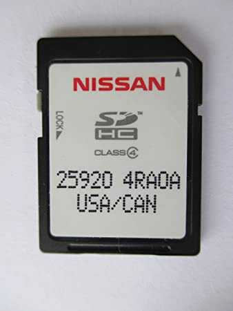 4RA0A 15 16 NISSAN MAXIMA, NISSAN CONNECT SD CARD , NAVIGATION GPS MAP DATA , NAVTEQ , NA NORTH AMERICA US CANADA 25920-4RAOA