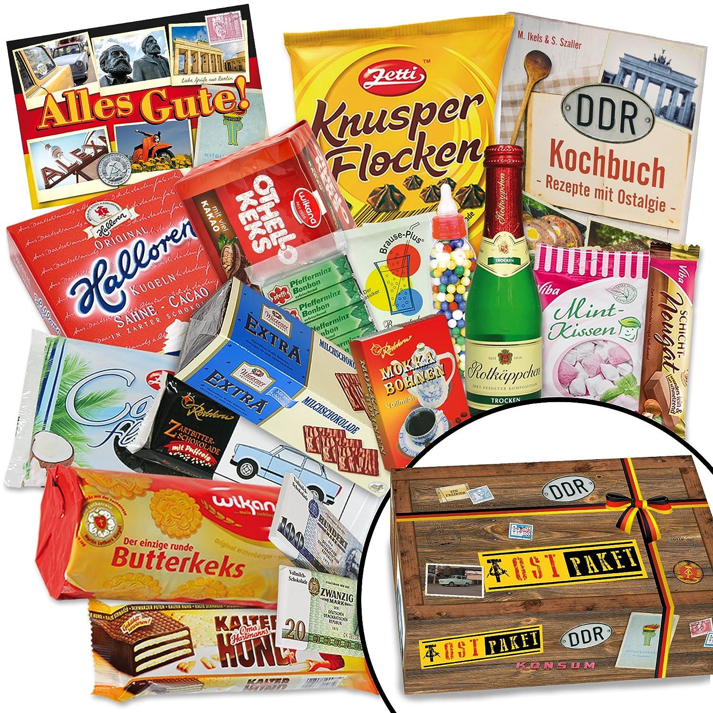 Süße DDR Präsentbox   bekannte Süßigkeiten aus dem Osten: Amazon.de ...