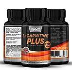 Acetil L Carnitina Plus | 120 Tabletas de máximo efecto de L-carnitina L-Tartrato + cromo agregado | Para 4 MESES | Cápsulas de refuerzo energético | Las pastillas más vendidas | Garantía total por 30 días