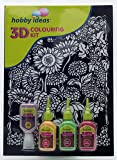 Pidilite 3D Colouring Kit - Floral (Sunflower)