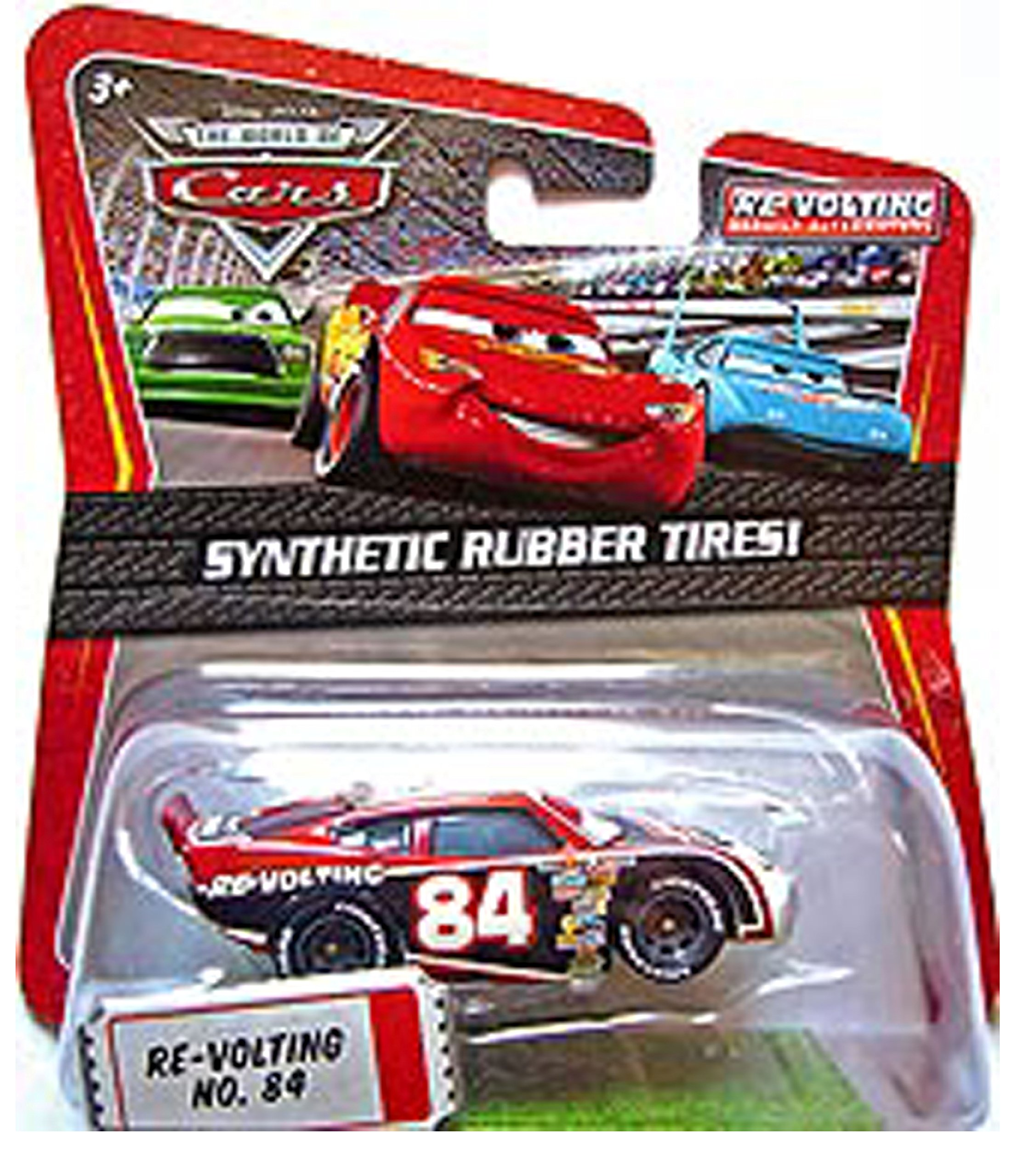 Mattel Disney Pixar Exclusive The World of Cars 1:55 Re-volting No. 84