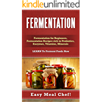 Fermentation: Fermentation For Beginners, Fermentation Recipes Rich in Probiotics, Enzymes, Vitamins, Minerals - LEARN To Ferment Foods Now (Kombucha, ... Vegetable, Vitamins, Minerals, Cleanse)