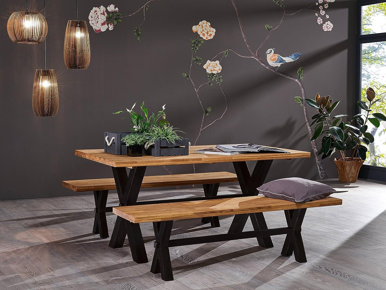 Mengen:8 St/ück Mojawo Holz Kleiderb/ügel mit Hosensteg 360/°drehbarer Haken Holz Natur mit Rock Schlaufenkerben in schwarz