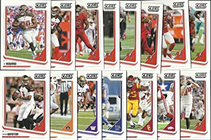 2018 Panini Score Football Tampa Bay Buccaneers Team Set 15 Cards W  for cheap