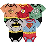 Baby Boys Newborn Infants Multi Pack DC Comics,...