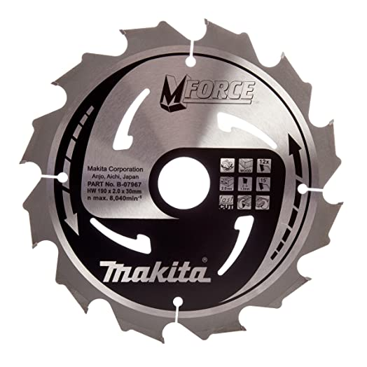 Makita b 07967 190 x 30 mm force circular saw blade course cut for makita b 07967 190 x 30 mm force circular saw blade course cut for wood greentooth Image collections