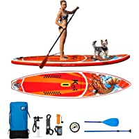 Feath-R-Lite Inflatable Stand Up Paddle Board Includes Pump, Paddle,  Backpack 0af6ba87db