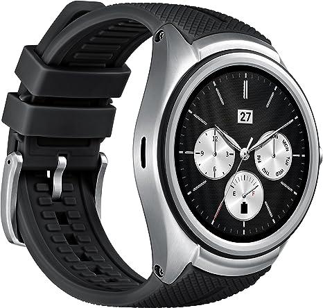 LG Urban 2 Reloj Inteligente Negro, Metálico P-OLED 3,51 cm (1.38 ...