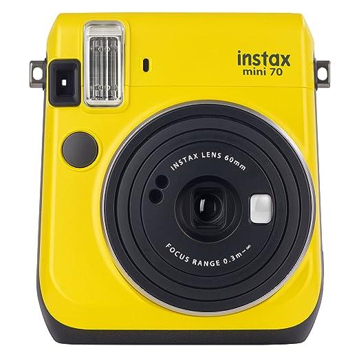 48 opinioni per Fujifilm Instax Mini 70 Canary Yellow Fotocamera Istantanea per Stampe Formato