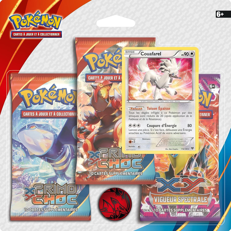 Pokèmon 3pack01xy05 - Jeu De Cartes - Pack De 3 Boosters - XY05 ...