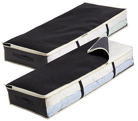 Amazon.com: Debajo de la cama organizador, anti moho bolsa ...