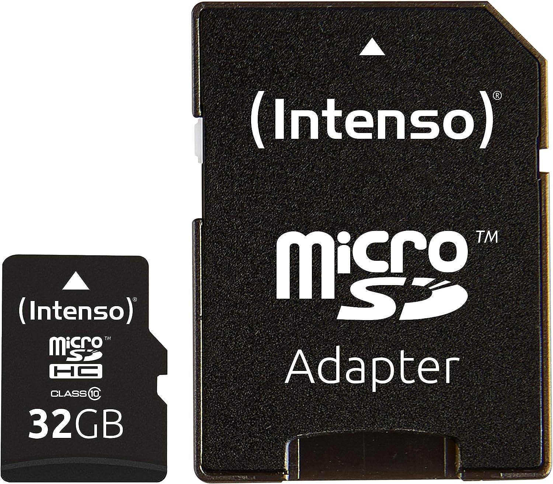 Intenso Micro Sdhc 32gb Class 10 Speicherkarte Inkl Computer Zubehör