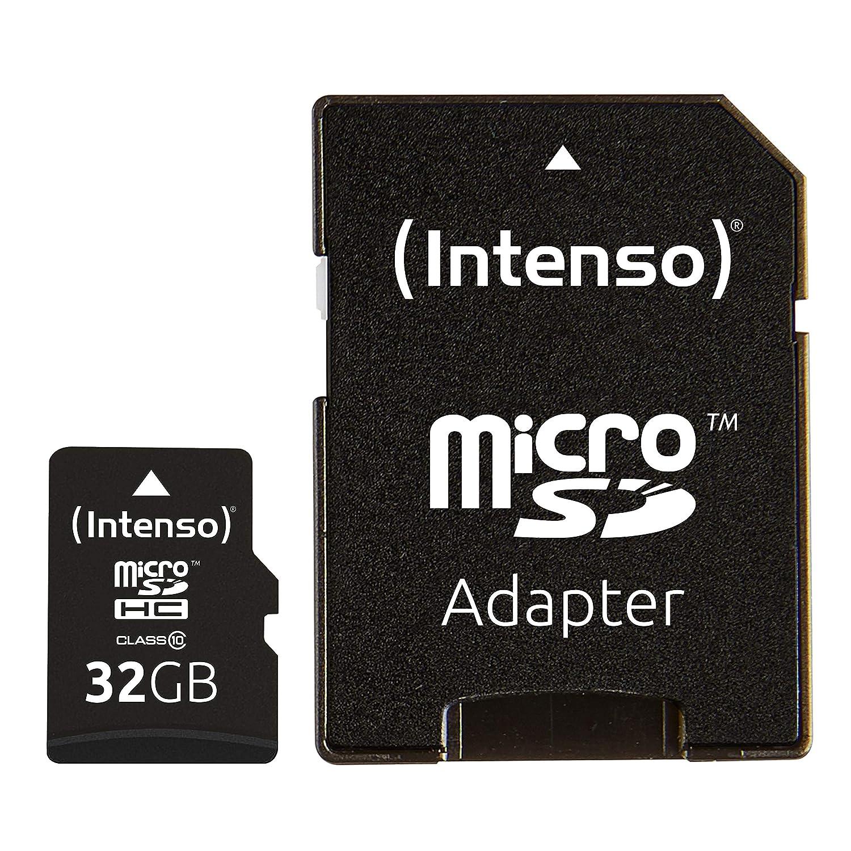 Amazon.com: Intenso 16GB Micro SD Card Class 10 (3413470 ...