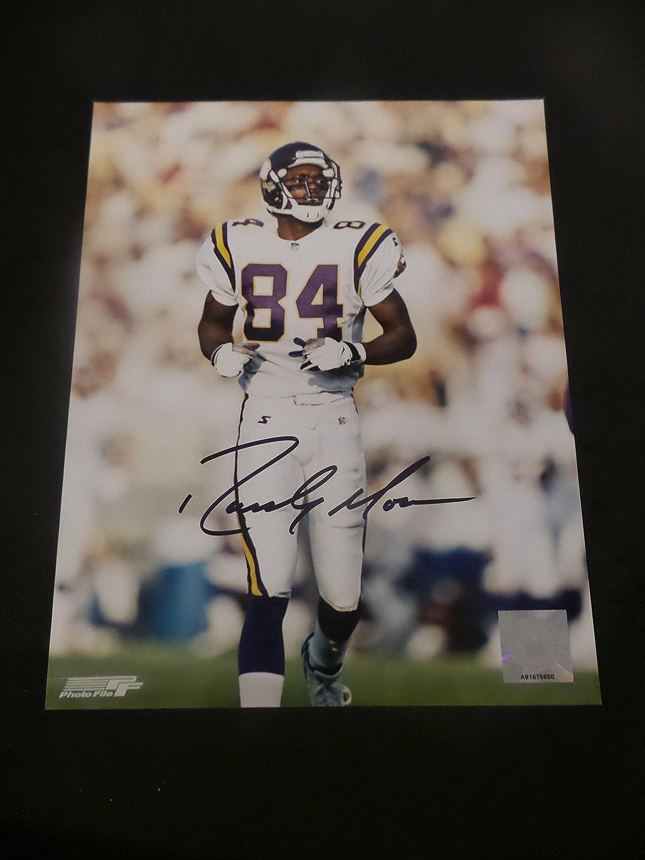 pretty nice 8d0da 16805 Randy Moss Signed Minnesota Vikings Autographed 8x10 ...