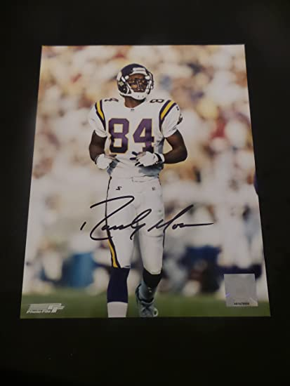 Randy Moss Signed Minnesota Vikings Autographed 8x10
