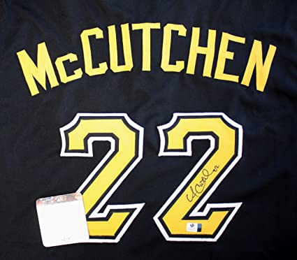 new arrival 71186 51cda Andrew McCutchen Pittsburgh Pirates Signed Autographed Black ...